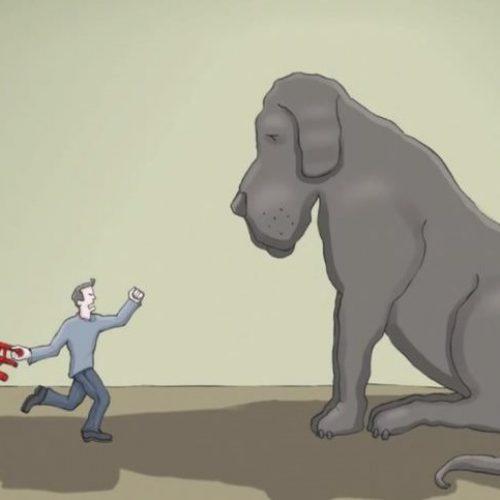 Τι είναι η κατάθλιψη;  Ο σκύλος  που πρωταγωνιστεί στο video μάς το εξηγεί!
