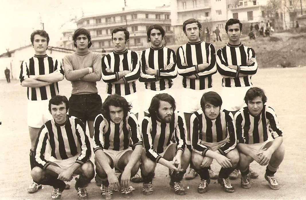 Αριστερό εξτρέμ στην ομάδα της Φιλοσοφικής, 1971
