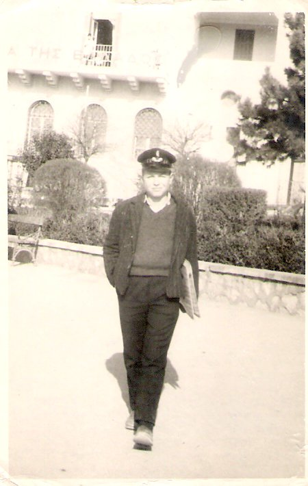 Καπελοφόρος μαθητής της Β τάξης στην Κοζάνη, 10-12-1964