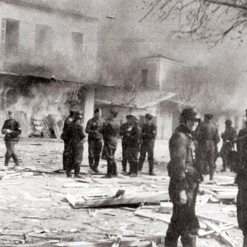 Η σφαγή στο  Δίστομο, 10  Ιουνίου 1944