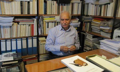 """Θανάσης Μαρκόπουλος. Με τον ποιητή στο """"ορυχείο των στίχων"""" του"""