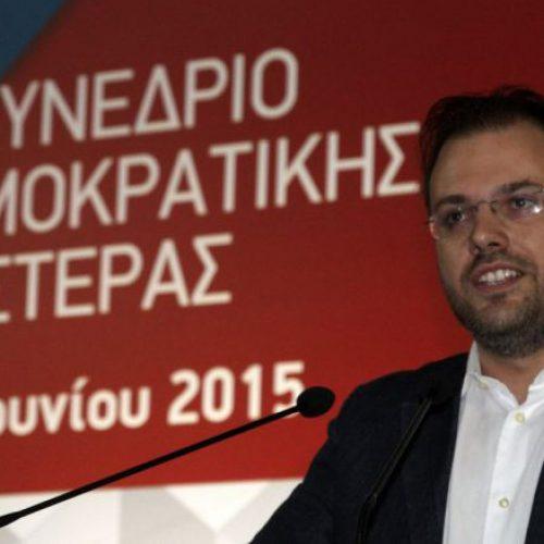 Δήλωση του Θανάση Θεοχαρόπουλου με αφορμή τον ένα χρόνο από την εκλογή του στην θέση του Πρόεδρου της  ΔΗΜΑΡ