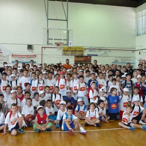 Veria Basketball Camp 2016 - Η 3η ημέρα με τον Λάζαρο Παπαδόπουλο, photo
