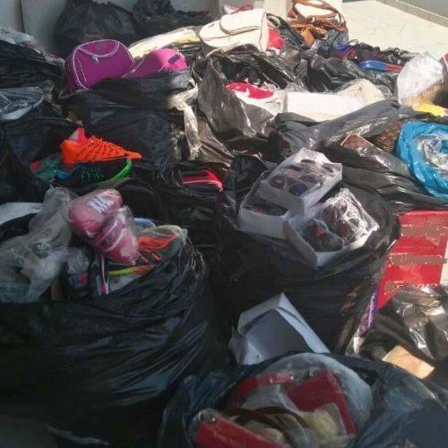 Συνελήφθησαν   8 άτομα για   παρεμπόριο  απομιμήσεων -   Κατασχέθηκαν  πάνω από 1.500  τέτοια  προϊόντα