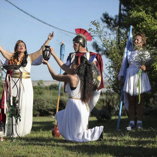 Η σύναξη των δωδεκαθεϊστών στους πρόποδες του Ολύμπου στο Λιτόχωρο
