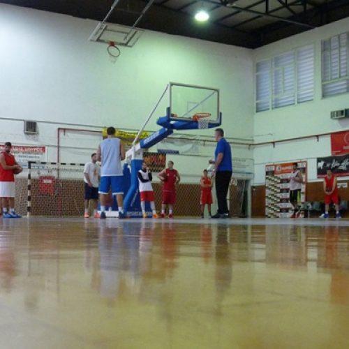 Φίλιππος Βέροιας ομάδα μπάσκετ προετοιμασία και φιλικά