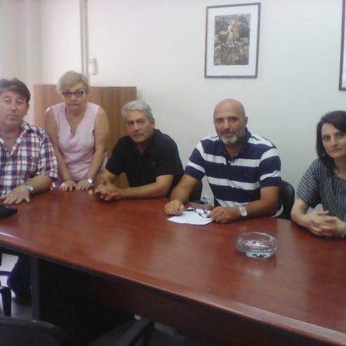 Συνάντηση της Ομάδας Δράσης Ανέργων Ν. Ημαθίας - ΔΕΥΑΒ