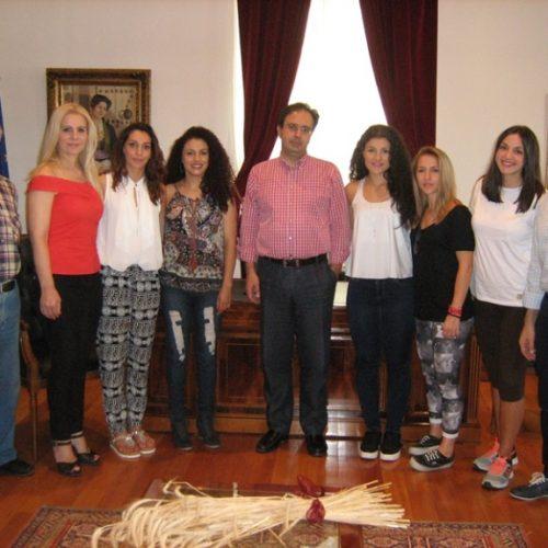Διεθνείς πρωταθλήτριες του Καράτε στο Δήμαρχο Βέροιας