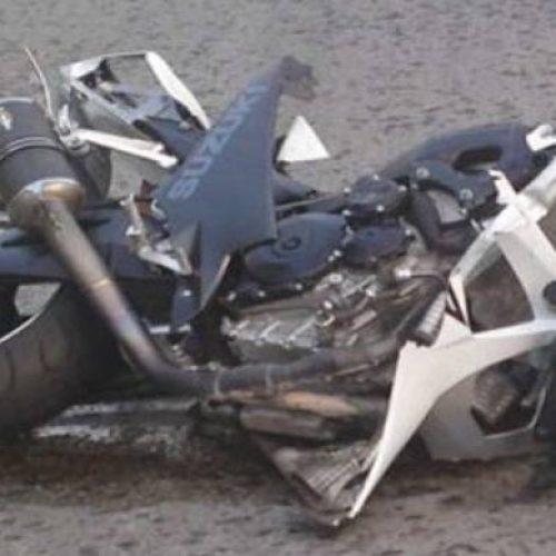 Θανατηφόρο τροχαίο απο σύγκρουση μοτοσικλέτας με Ι.Χ.Ε