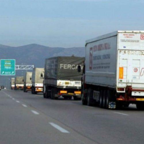 Απαγόρευση κυκλοφορίας φορτηγών κατά τον εορτασμό του Δεκαπενταύγουστου