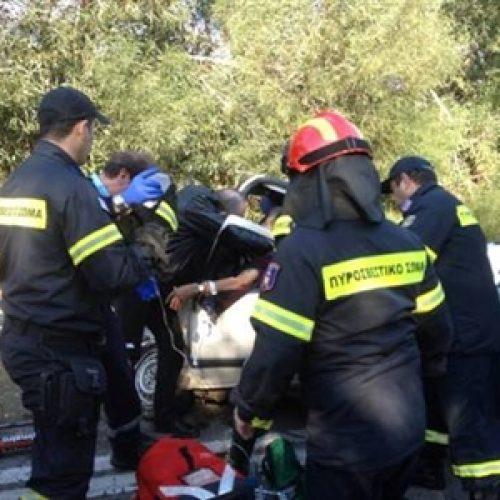 Νεκρή γυναίκα σε τροχαίο έξω απο τους Γεωργιανούς  στη Βέροια
