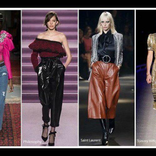 Μόδα: Οι τάσεις στα γυναικεία ρούχα  Φθινόπωρο – Χειμώνας  2017