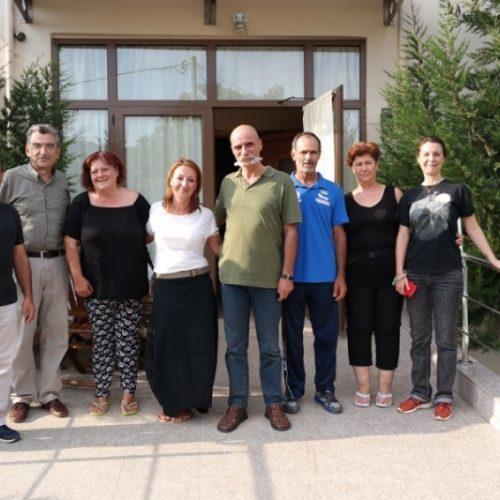 Στο Σπίτι της Βεργίνας κλιμάκιο της Ελληνικής Ομοσπονδίας Παγκρατίου