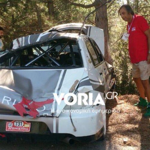 """Θανάσιμος τραυματισμός θεατή κατά την διάρκεια του αγώνα """"Rally ΔΕΘ"""""""