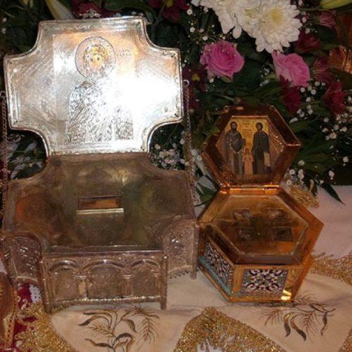 Μέχρι τις 2 Νοεμβρίου 2016 τα λείψανα των Αγ. Ραφαήλ, Νικολάου και Ειρήνης στην Πατρίδα Βέροιας