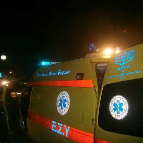 Τραγικός θάνατος 53χρονου πεζού στο επαρχιακό δίκτυο Κατερίνης - Θεσσαλονίκης