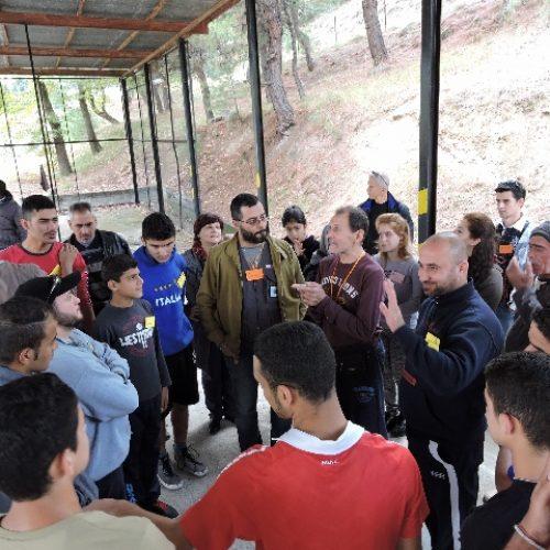 Ολοκλήρώθηκε η ποδηλατική εκπαίδευση προσφύγων του Κέντρου Φιλοξενίας Προσφύγων της Αγ. Βαρβάρας στη Βέροια