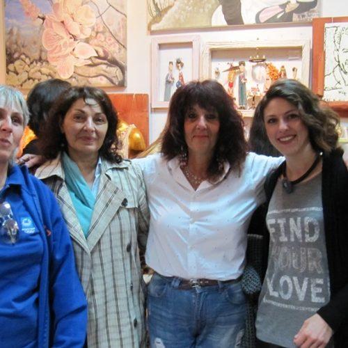 Με επιτυχία τα εγκαίνια της έκθεσης που ξεκίνησε το Καλλιτεχνικό Εργαστήρι της Κωνσταντίας Αμπατζόγλου