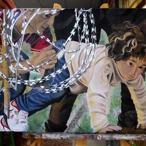 Εγκαίνια έκθεσης από το καλλιτεχνικό εργαστήρι της Κωσταντίας Αμπατζόγλου, Παρασκευή 14 Οκτωβρίου
