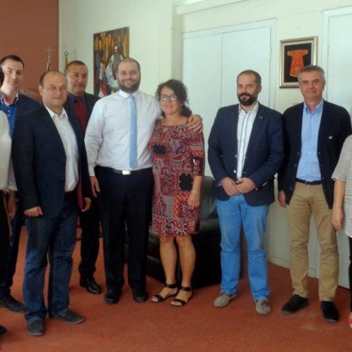 Στη Νάουσα  αποστολή του αδελφοποιημένου Δήμου της Πολωνίας Ζγκορτζέλετς