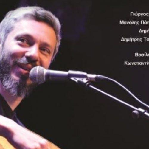 Ο Αλκίνοος Ιωαννίδης στο Χώρο Τεχνών στη Βέροια, Κυριακή 11 Δεκέμβρη