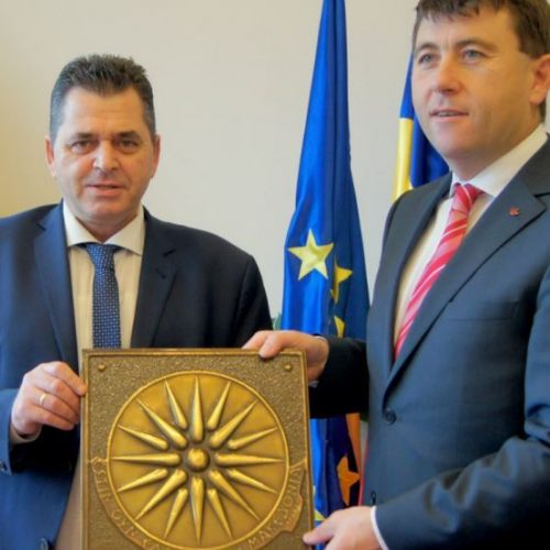 Επίσκεψη του αντιπεριφερειάρχη Ημαθίας Κώστα Καλαϊτζίδη στο νομό Χαργκίτα της Ρουμανίας