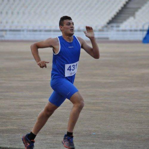 Συμμετοχή του αθλητή Τουλίκα Νικολάου στον 34ο  Αυθεντικό Μαραθώνιο Αθήνας
