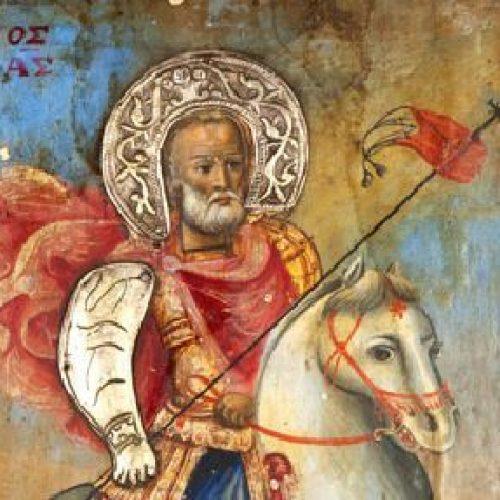Πανήγυρις Ιερού Ναού Αγίου Μηνά Ναούσης, 10 και 11 Νοεμβρίου