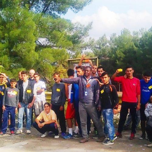 Πρόγραμμα για πρόσφυγες.  Ποδηλατόβολτα στον Αλιάκμονα, Κυριακή 6 Νοεμβρίου