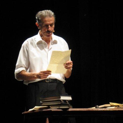 """""""Αναφορά στον Γκρέκο"""". Μια μαγική στιγμή συνάντησης της Λογοτεχνίας με το Θέατρο"""