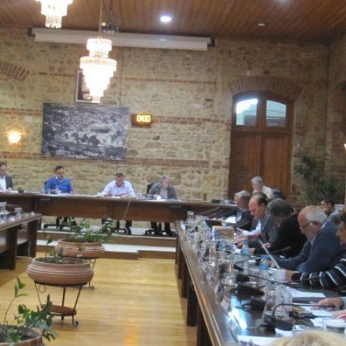 Δημοτικό  Συμβούλιο Βέροιας -  Στιγμιότυπα από τη συνεδρίαση