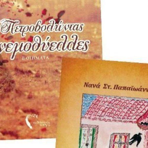 """Νανάς Παπαϊωάννου """"Πετροβολώντας ανεμοθύελλες"""" και """"Το άταχτο χελιδονάκι"""", Βέροια, Δημόσια Βιβλιοθήκη, Δευτέρα 14 Νοεμβρίου"""
