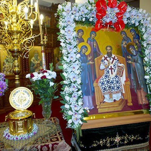 Ιερά Αγρυπνία στη Μονή Δοβρά την Κυριακή 13 Νοεμβρίου