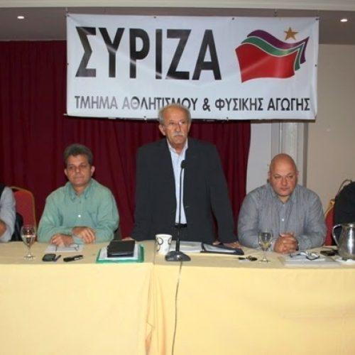 ΣΥΡΙΖΑ: Αθλητισμός και Δημοκρατία η απάντηση στα μαφιόζικα και στα ρατσιστικά χτυπήματα!