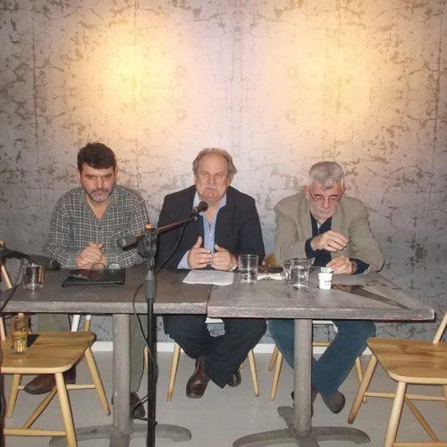 """Με μεγάλη επιτυχία παρουσιάστηκε στην Αθήνα το βιβλίο του Αλέκου Χατζηκώστα """"Το παρελθόν κρατά πολύ"""""""