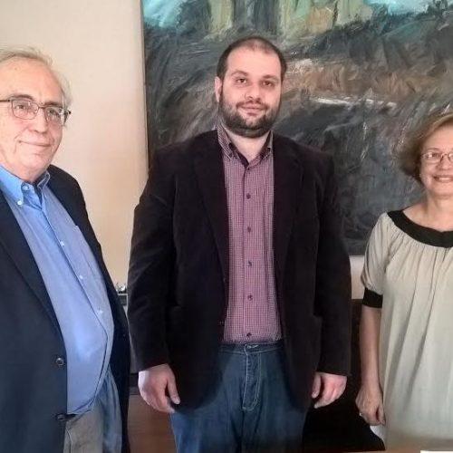 Συνάντηση του Δημάρχου Νάουσας με τον Υπουργό Πολιτισμού