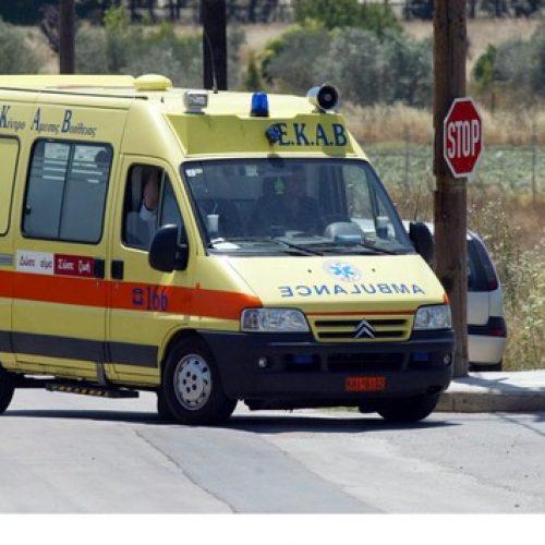 Θανατηφόρο τροχαίο στην Κρύα Βρύση Πέλλας με θύμα 80χρονο