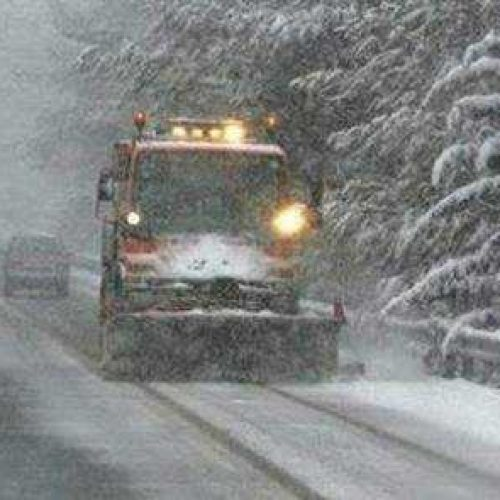 Η κατάσταση στο  οδικό δίκτυο της Ημαθίας λόγω χιονόπτωσης και παγετού (29/11/2016, ώρα 19:00)