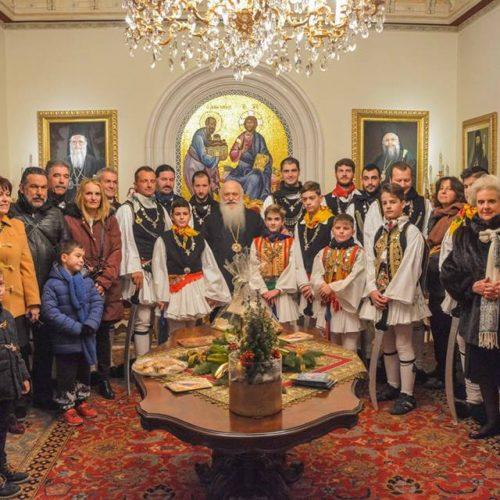 Το έθιμο των Ρουγκατσιών ανεβίωσε το Λυκειο των Ελληνίδων Βέροιας