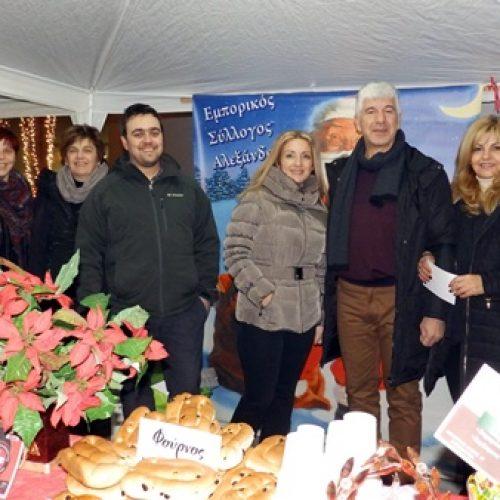 Πραγματοποιήθηκε  η χριστουγεννιάτικη γιορτή του Εμπορικού Συλλόγου Αλεξάνδρειας