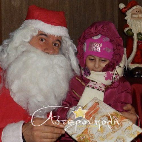 Πλατύ: Ο Αι Βασίλης πέρασε τα Χριστούγεννα από την Αστερούπολη