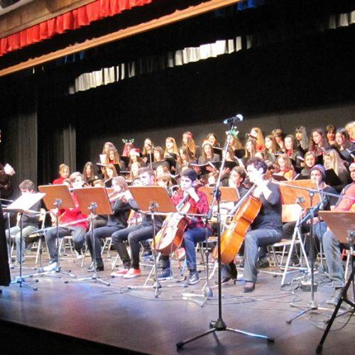 Μουσικό Σχολείο Βέροιας - Συναυλία με χριστουγεννιάτικες μελωδίες από την Ελλάδα και τον Κόσμο