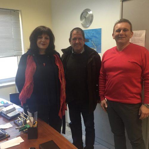 Επίσκεψη Φρ. Καρασαρλίδου και αντιπροσωπείας ΣΥΡΙΖΑ στο (ΠΕΔΥ) ΙΚΑ Νάουσας