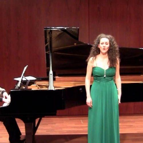 Η Βεροιώτισσα σοπράνο Μαρία Παλάσκα και πάλι στο Μέγαρο Μουσικής Αθηνών