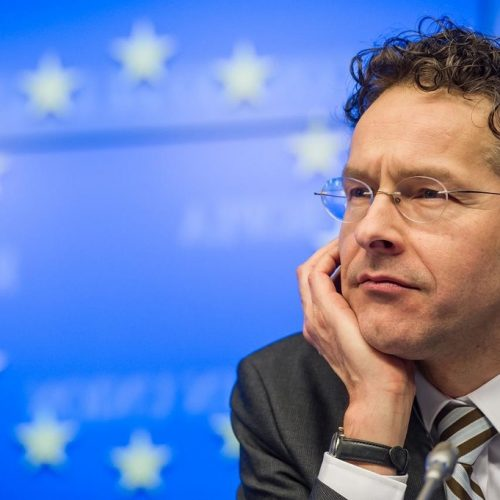 """Ντάισελμπλουμ: """"Η Ελλάδα κινείται στη σωστή κατεύθυνση. Το ερώτημα, είναι πόσο θα διαρκέσει η πολιτική σταθερότητα"""""""