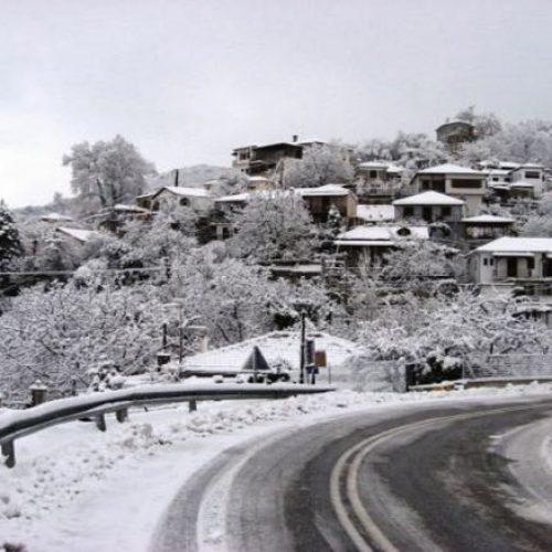 Η κατάσταση του οδικού δικτύου στην Κεντρική Μακεδονία. Παρασκευή 6 Ιανουαρίου ώρα 08:30