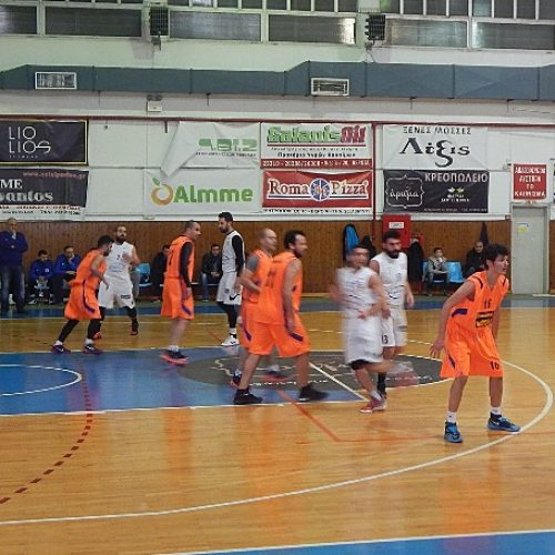 Μπάσκετ: ΑΟΚ Βέροιας - Ζαφειράκης Νάουσας 81-45