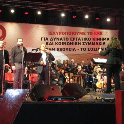 Η Ελλάδα του Γιάννη Μαρκόπουλου ξαναζωντάνεψε χθες στο Παλαί ντε Σπορ