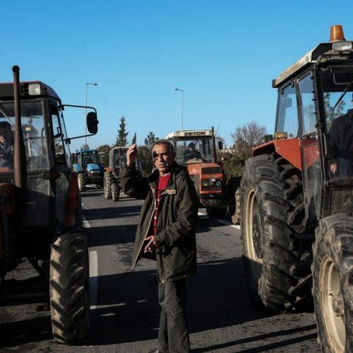 Τα μπλόκα των αγροτών - Οι δρόμοι που έκλεισαν, Παρασκευή 27 Ιανουαρίου