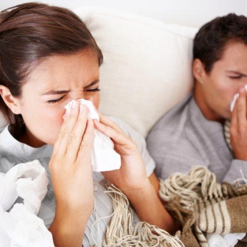"""""""Συναγερμός"""" για τα κρούσματα εποχικής γρίπης και γαστρεντερίτιδας"""